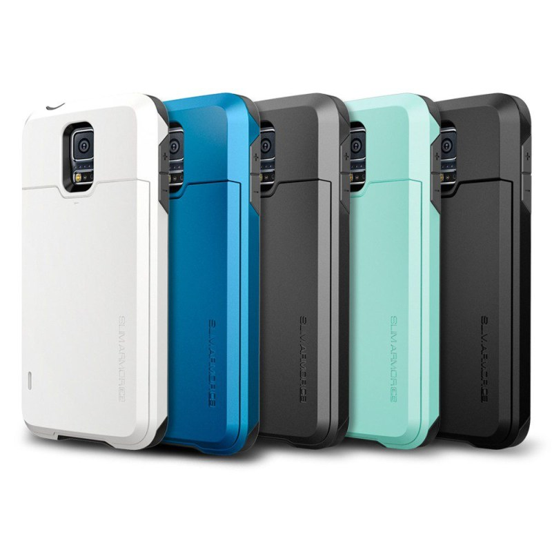 Protect your smartphone with style spigen cases techacute for Housse samsung s5