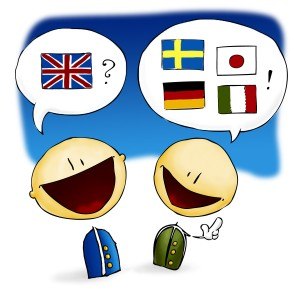 zinjixmaggir-languages-flags-comic-two-guys-english-german-italian-japanese-swedish