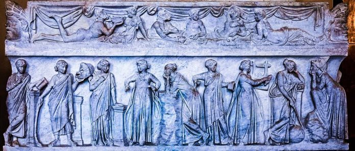 Muses_sarcophagus_Louvre