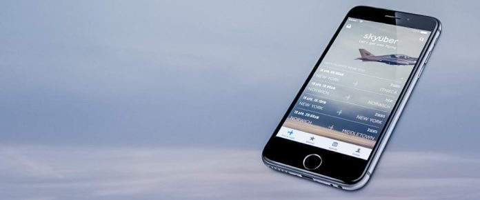 skyüber app screenshot