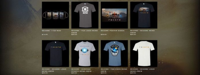 ReCore Merch Fan Products Shop Original Shirts Gaming Cup
