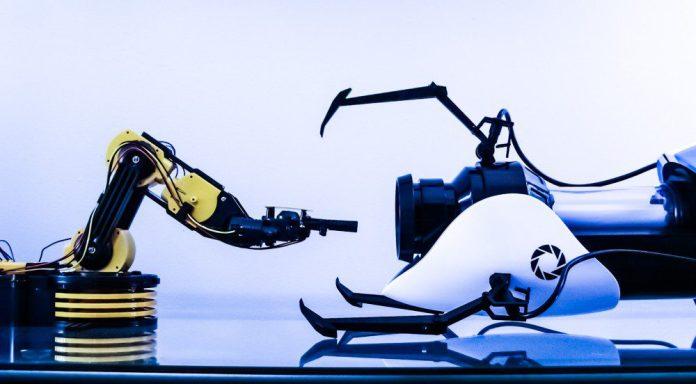 Robot Arm Portal Gun Future Judy Wajcman Robotics Automation Sociology Science