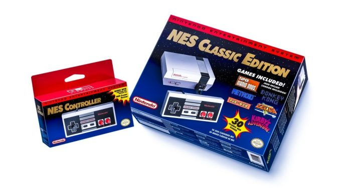 NES Nintendo Entertainment System New Release Mini With Games