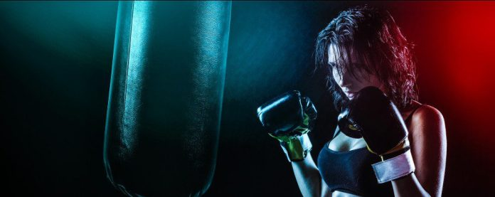 Female Boxer Girl Combat Martial Arts Sports Fighting for Collaboration Teamwork Cisco Article Technology Christopher Isak