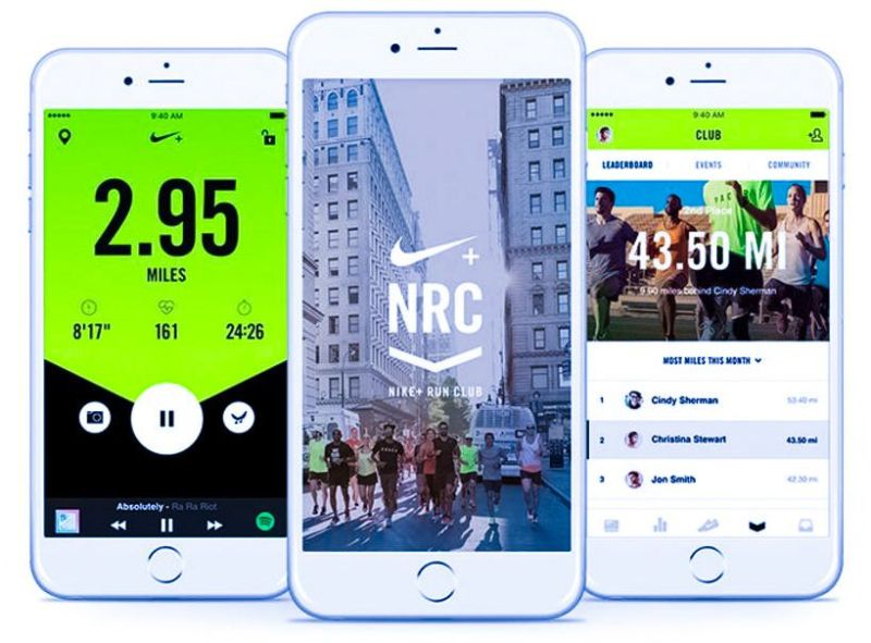 Nike+ Run Club App Gamification Community Motivation Screenshot iPhone Android