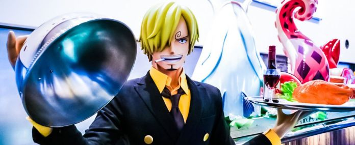 One PIece Sanji Restaurant Strong World