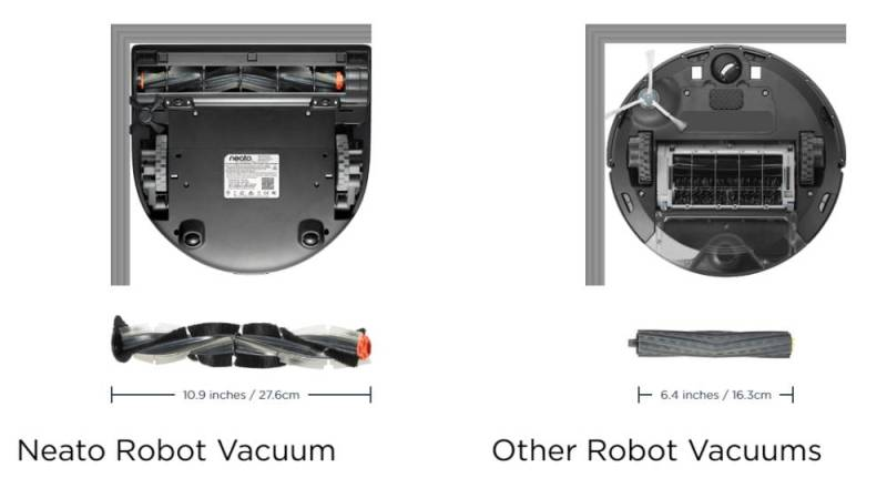 Neato Vacuum Robot Comparison Roomba iRobot