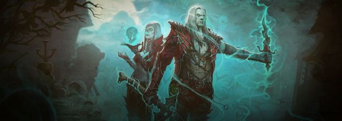 Diablo 3 Necromancer Male Female Concept Art Wide