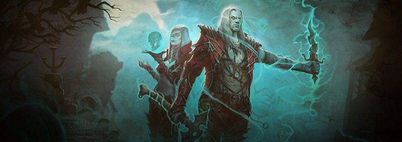 Diablo 3 Necromancer Male Female Concept Art Wide
