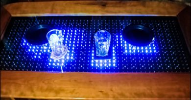Build Your Own Interactive LED Table [Video]