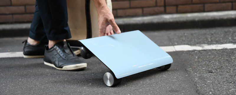 Walkcar Is Your Transportation Device That Fits Your Bag