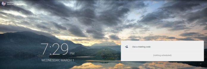 Google Meet Screenshot News Release Collaboration G-Suite