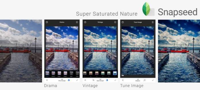 Snapseed Google iTunes Android Photo Manipulation Editor Tweak Filters Easy
