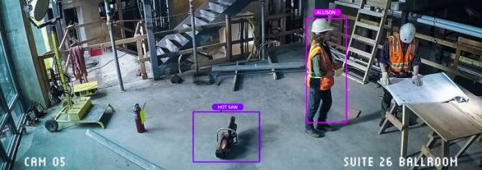 Hot Saw Equipment Construction Site Management Tools Location Allison Worker Needs Safety Microsoft Workplace Concept