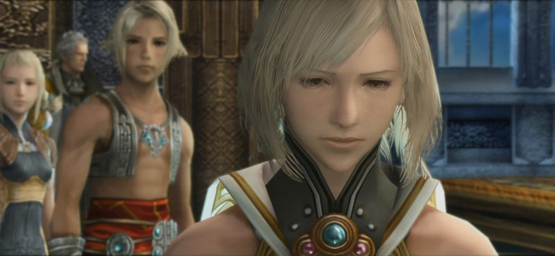 Final Fantasy XII The Zodiac Age Screenshot HD Sad Girl Cheat