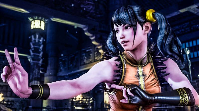 ling xiaoyu tekken 7 female fighter girl looking cheerful