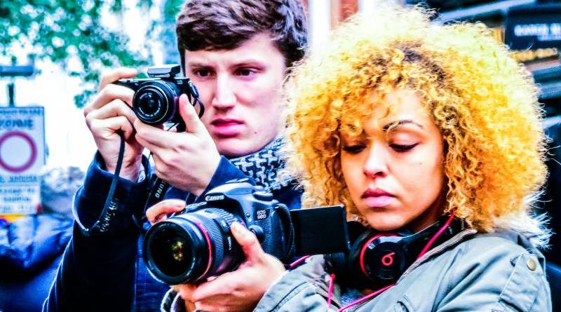 Man Woman Video Taking Camera Videographer YouTubers YouTube Creators Editor Editing Cutting Merging News Killed End Alternatives List