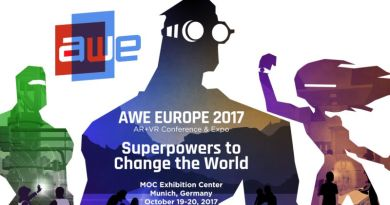 AWE Europe AR VR Conference Expo 2017 Munich Germany