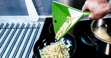 Oriboard Is the Cutting Board That Turns into a Colander