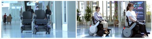 Panasonic Robotic Electric Selfdriving Wheelchair Whill Next Haneda Tokyo Japan Airport News Tech Mobility New Product