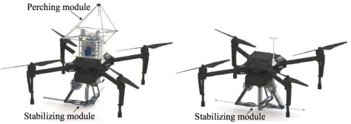 SpiderMAV- Micro Aerial Vehicles With Bio-inspired Tensile Anchoring Product View Parts