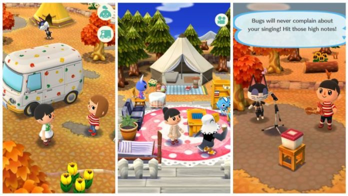 Screenshot Animal Crossing Pocket Camp