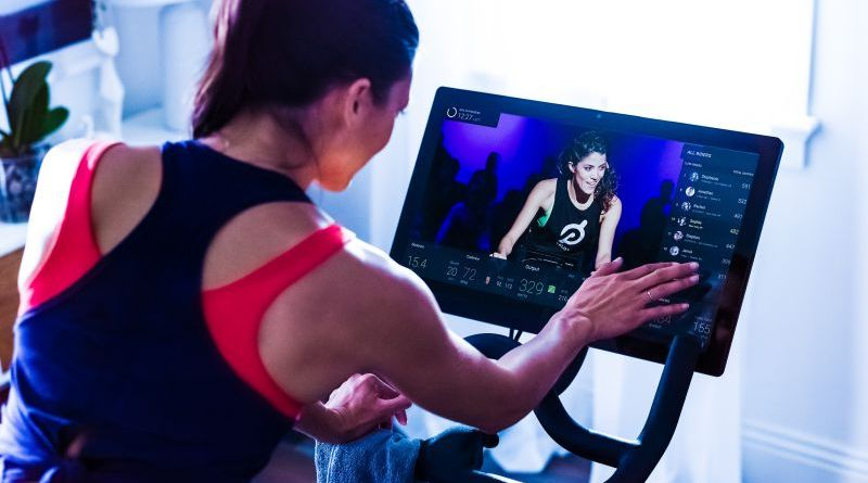 Peloton Video Streaming Companies Startup Listing Top Ten 10 List 2017 2018 Investments News Sports Exercise Indoor Woman Female Bike Instructor