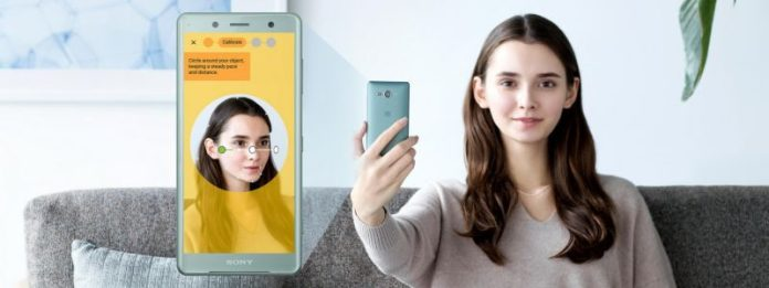Ssony Xperia XZ2 3D Selfie_girl crop