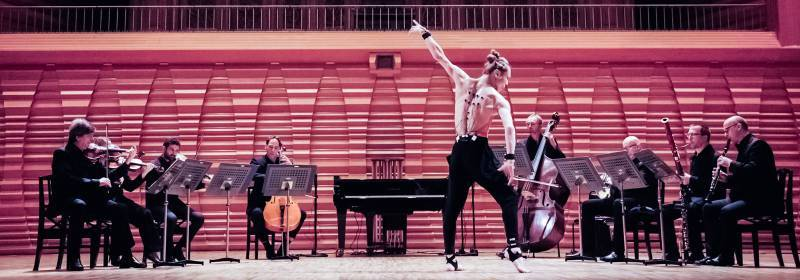 Yamaha Artificial Intelligence (AI) Transforms a Dancer into a Pianist Stage Dancing Performance_edited