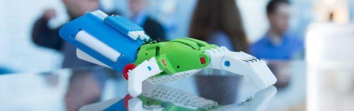 didacta hannover messe 3d printed robotics hand education Crop