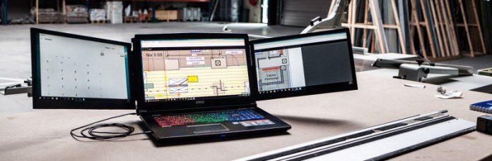 Your Slide Le Slide Slidenjoy Gadget Multi Screen Laptop Notebook New Startup