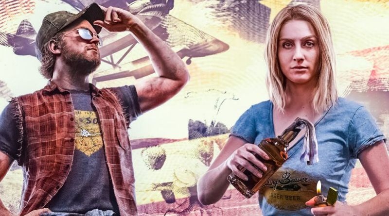 FC5 Far Cry 5 Feature Key Art Game Charts Woman Molotov Molotow Cocktail