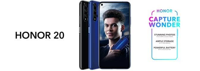Honor 20 is getting a limited time price cut... 1