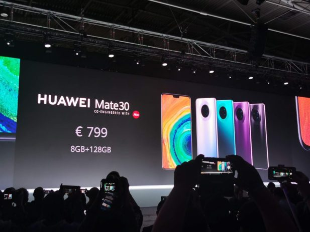 Huawei announces the Mate 30 and the Mate 30 Pro with amazing cameras 8