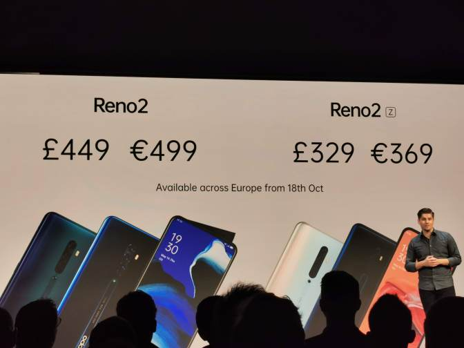 Oppo announces the Reno2 series in London for the Europe launch 15