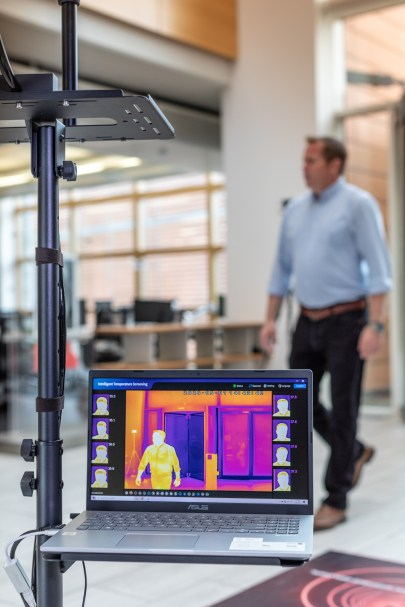 Vodafone helps the UK back to work safely with NEW IoT-enabled heat detection camera 7