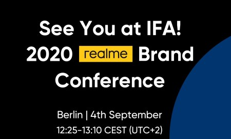 Official Annoucement realme IFA 2020