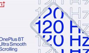 OnePlus 8t 120hz