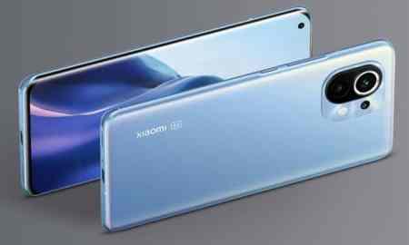 Xiaomi Mi11 Grey Back