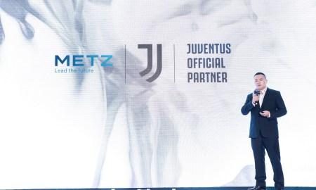 METZ blue x Juventus Partnership Leo Tang