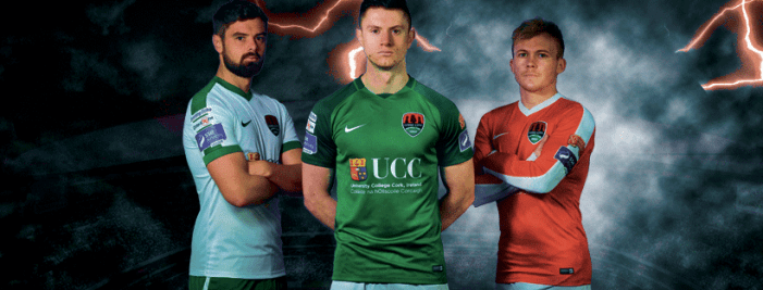SOCCER: Cork City FC launch new home jersey for 2017 season