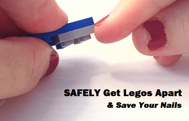No Lego Brick Separator? Try this hack and save your nails!