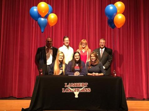Jane Johnson, swimming, signs with Auburn University