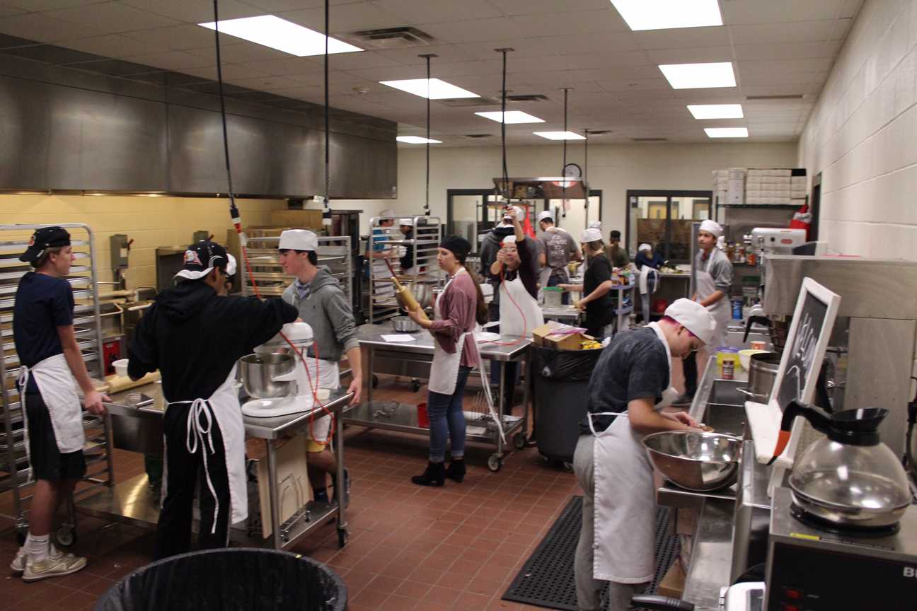 the lambert post inside lambert s culinary arts program the hustle and bustle of a kitchen can not be ignored to some one that s