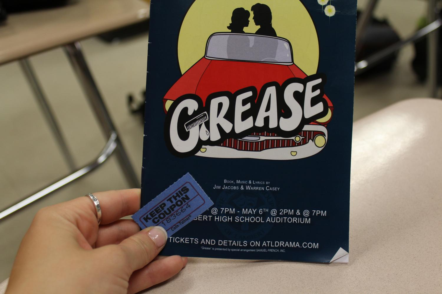 The+production+of+Grease+was+full+of+songs+from+the+film%2C+but+a+crowd+favorite+was+%22We+Go+Together.%22