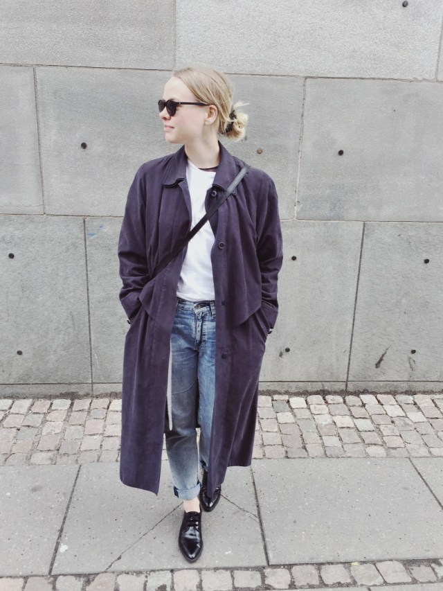 OOTD: My grandmother's jacket