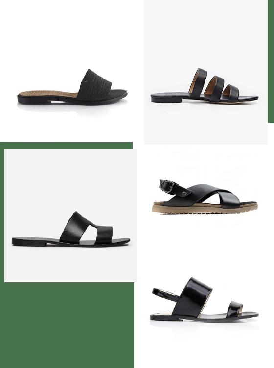 summer wardrobe inspo: sandals