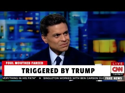 "CNN's Fareed Zakaria Has Profanity-Filled Meltdown Over Trump - ""Bullsh*t - Bull💩 - Bullsh*t"""