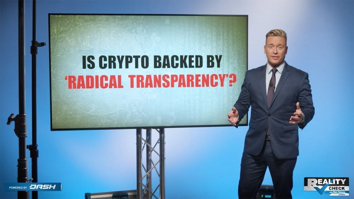 "Reality Check: Is Crypto Backed by ""Radical Transparency""?"