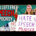 The Far-left Advocates Censorship Up Until They get Censored